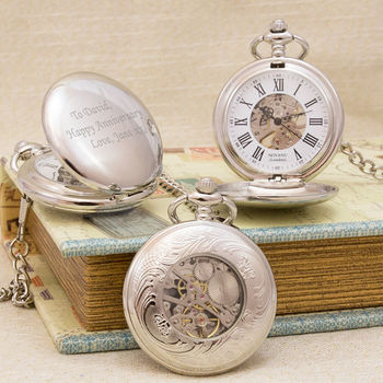 Antique Style Personalised Pocket Watch