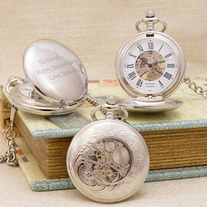Antique Style Personalised Pocket Watch - personalised