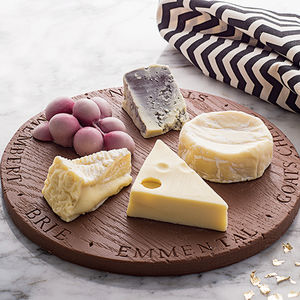 Chocolate Cheese Board For After Dinner - gifts for her