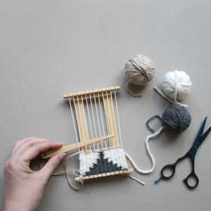 Mini Weaving Loom Kit - creative kits & experiences
