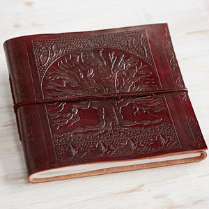 Tree Of Life Leather Album
