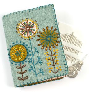 Felt Needle Case Embroidery Kit