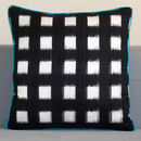 Chess Silk Ikat Cushion