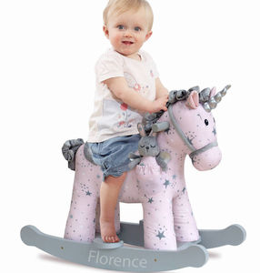 Personalised Rocking Unicorn - children's room