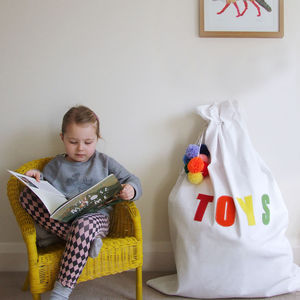 Personalised Storage Sacks - baby's room