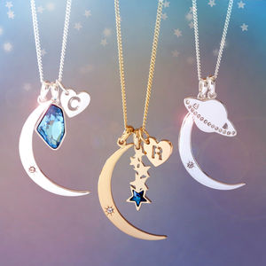 Design Your Own Galaxy Necklace - necklaces & pendants