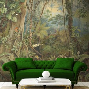 Tropical Paradise Wall Mural By Woodchip And Magnolia - wallpaper