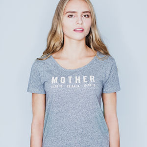 Personalised Mother T Shirt - tops & t-shirts