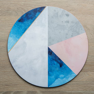 Contemporary Round Placemats