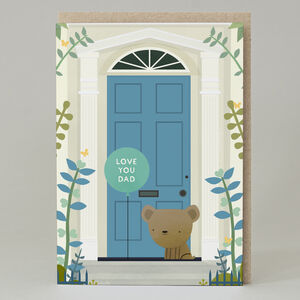 'Love You Dad' Door Card