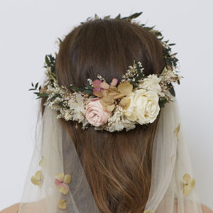 Rosalind Retro Crown - bridal hairpieces