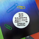 Big Brother Crayon Set