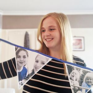 Personalised Fabric Photo Bunting