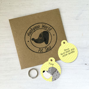 Personalised Great Dane Pet ID Tag
