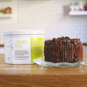 Cinnamon Pippin Alcoholic Fruit Cake - new in food & drink