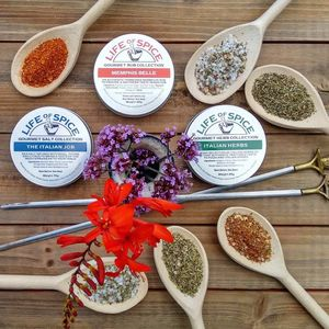Gourmet Herb And Spice Collection - spicy food gift ideas