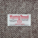 Dark Grey Herringbone Harris Tweed Lampshade