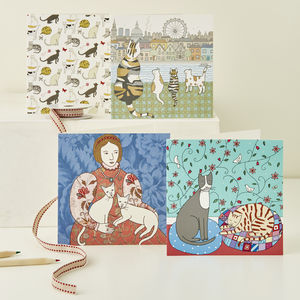 Cat Greeting Card Selection