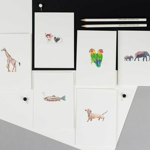 Personalised Animals Greeting Card - shop by category