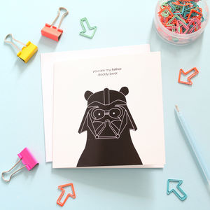 Darth Vader Daddy Bear Card