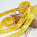 Easter 25mm Personalised Printed Ribbon