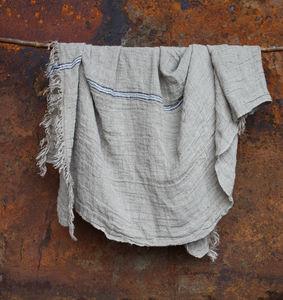 Kalli Linen Throw - throws, blankets & fabric