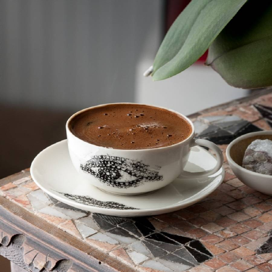 Handmade Espresso Turkish Coffee Cups Eye And Lip By