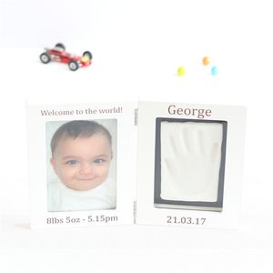 Personalised Baby Imprint Kit And Photo Frame - gifts for babies