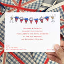 Royal Wedding Party Invitations