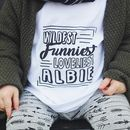 Personalised Kids Name T Shirt