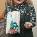 Dinosaur Egg Bag With Chocolate Eggs
