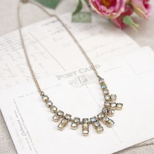Vintage 1950's Crystal Choker Necklace