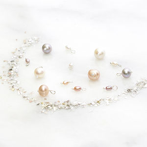 Add On Pearl Charm To Personalised Jewellery