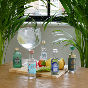 The I Love Gin Selection Five Gins Tasting Gift Set