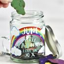 Personalised Message Cloud Jar