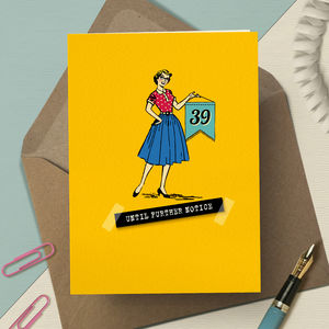 40th '40th Birthday Denial' - birthday cards