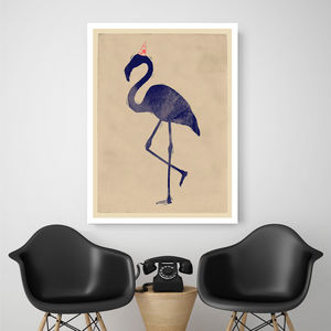 Flamingo Party, Canvas Art
