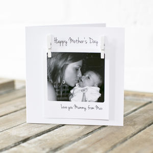 Personalised Mother's Day Photo Message Card