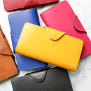 Bright Coloured Leather Purse Or Wallet