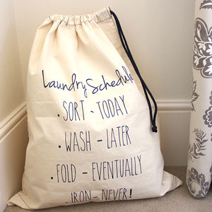 Laundry Bag - bedroom
