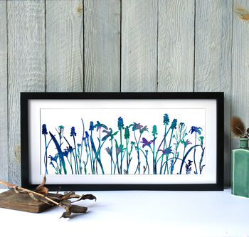 Watercolour Flower Mix Number Six, Giclee Print