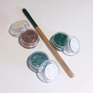Glitter Gel Eyeshadow Set - make-up