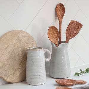 Coconut Wood Utensils - wooden spoons
