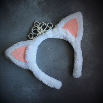Princess Kitten Fancy Dress Headband