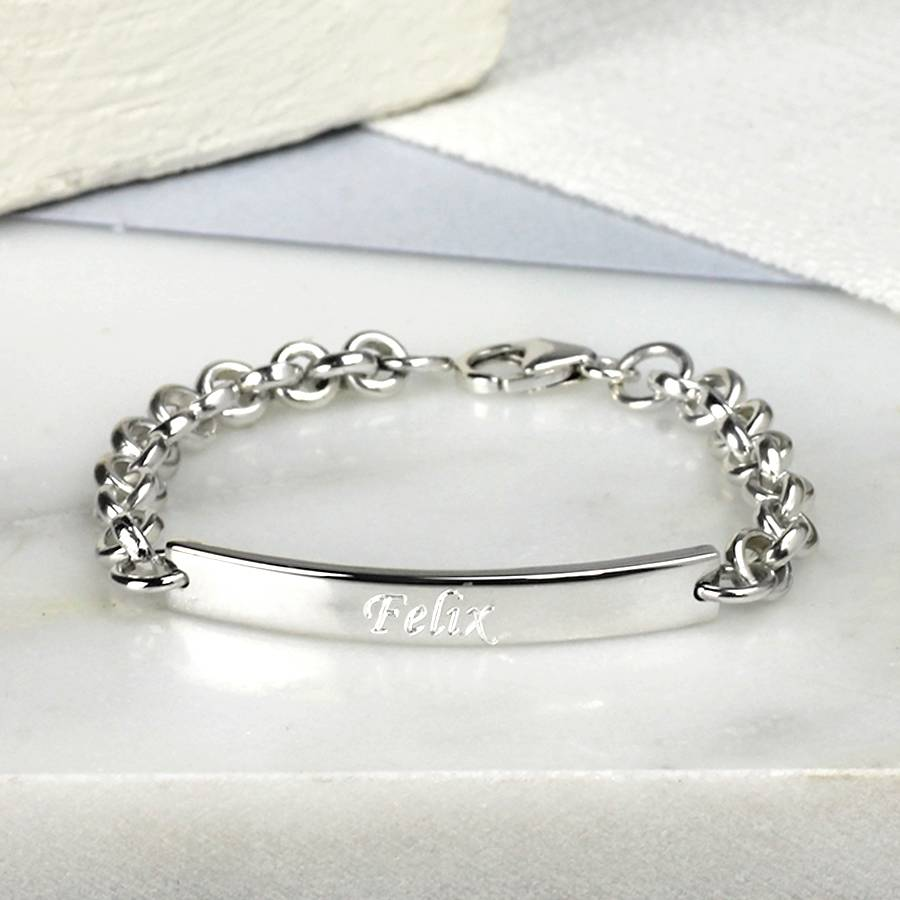 bracelet child s sterling silver childs charm images