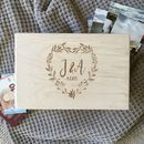 Personalised Couples Initials Memory Box