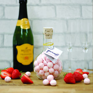 Strawberry And Prosecco Gourmet Sweets - gifts for her