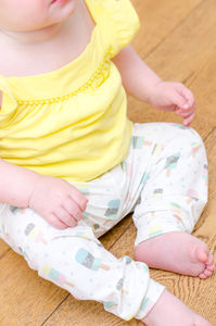 Ice Cream Baby Leggings