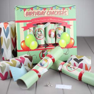 Birthday Party Crackers - christmas entertaining