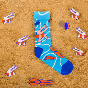 Graphic Socks By Thomas - underwear & socks